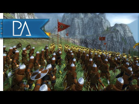 BATTLE OF OLD ENEMIES - Third Age Total War Gameplay