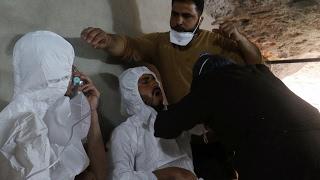 أخبار عربية - تأكيد أممي على إستخدام الكيماوي في مجزرة #خان_شيخون