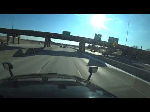 12-11-19 #449 Driving Through Omaha Nebraska & Arriving In Grand Island Nebraska