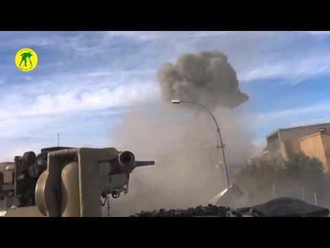 Iraqi M1 Abrams tank destroys ISIS VBIED in Ramadi