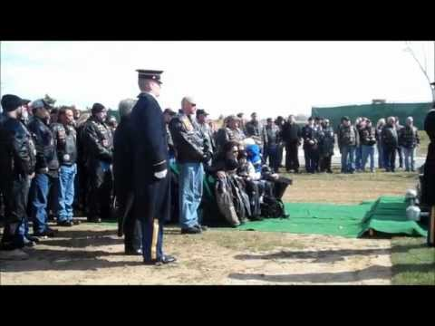 Arlington Burial of 1st Lt. Patrick 'Infidel' Smith 2-21-2012
