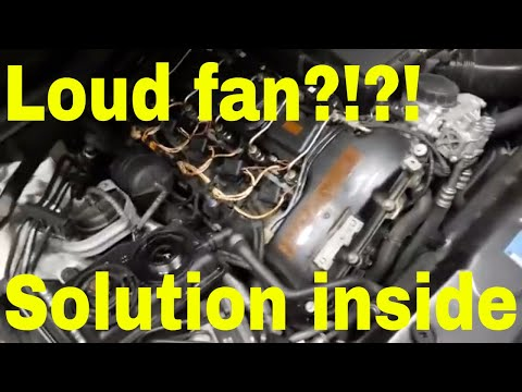 DIY – BMW radiator fan stuck on high? – electric water pump diagnosis