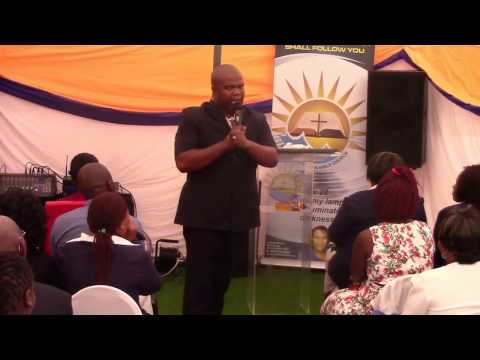 Apostle T.  Macozoma (You will recieve Power) Part 1