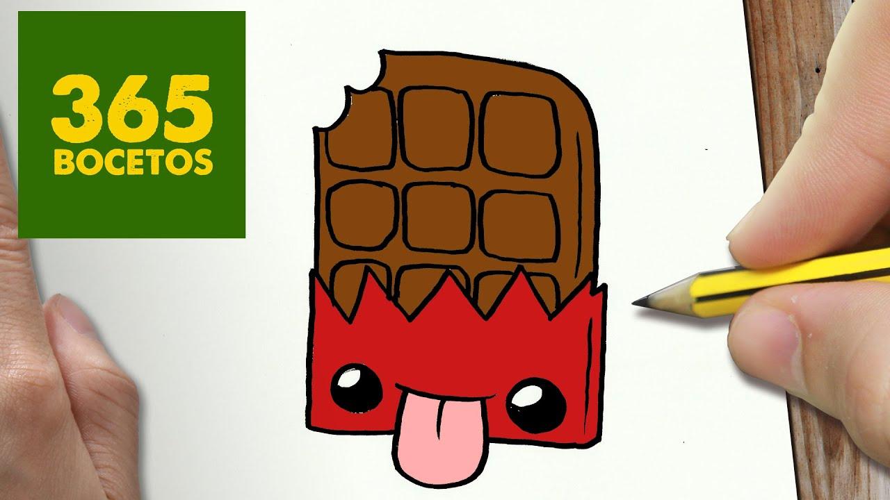 Como Dibujar Chocolate Kawaii Paso A Paso Dibujos Kawaii Faciles