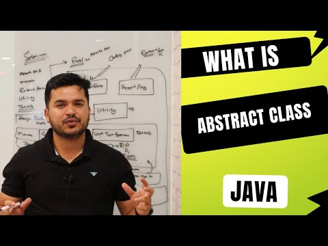 Abstract Class In Java And Usage In Selenium