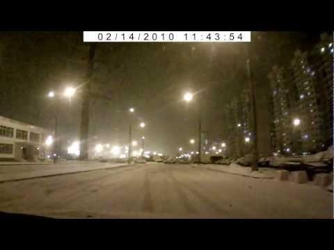 вращение на снегу Ritmix avr 630