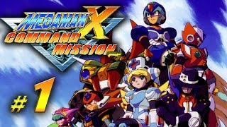 Mega Man X: Command Mission - chapter 1 gameplay walkthrough (PS2, GC) | No commentary