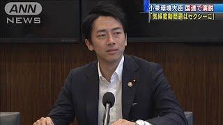 「気候変動問題はセクシーに」小泉大臣が国連で演説(19/09/23)
