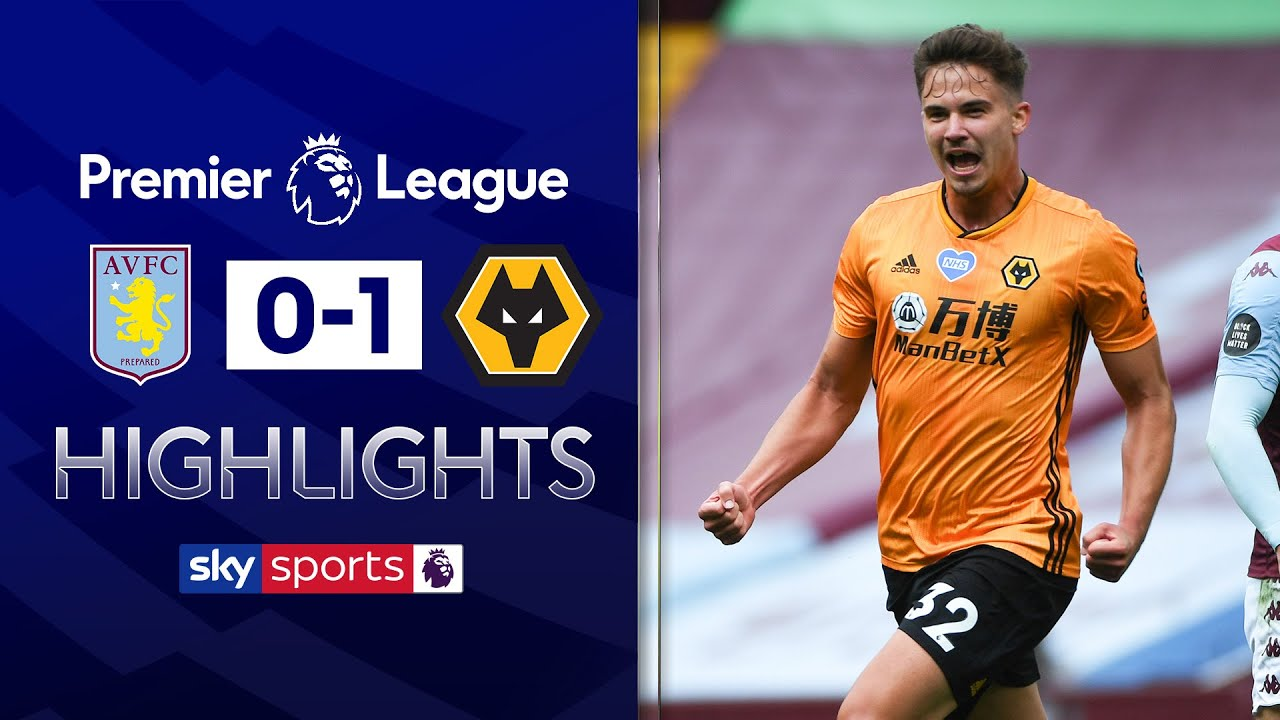 Dendoncker dents Villa survival hopes with emphatic finish | Aston Villa 0-1 Wolves | EPL Highlights
