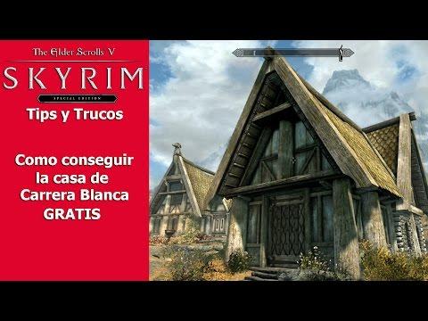 Skyrim Special Edition | Tips y Trucos | Como conseguir la casa de Carrera Blanca GRATIS