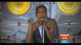 Jessica Mauboy - Never Be The Same (Live on Sunrise)