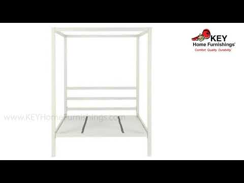 Ashley Modern Metal Canopy Full Bed B600029-271 | KEY Home