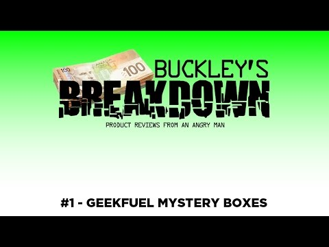 Mystery Subscription Boxes - A Dose of Buckley (Buckley's Breakdown #1)
