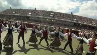 """Deju Lieluzvedums """"Tēvu Laipas"""" - Fināls - Dziesmu Un Deju Svētki 2013"""