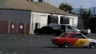 datsun 510 race car test drive