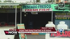 Largest food stamp fraud bust in US history announced after flea market raid in Hialeah