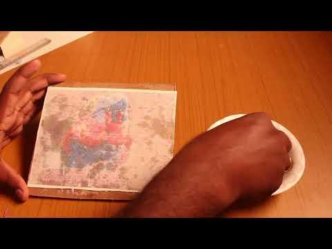 canvas photo transfer using fevicol sh