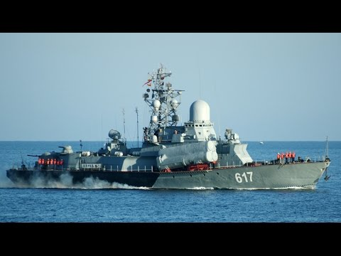 Russian Navy - The killer loaded missiles from the Caspian Sea