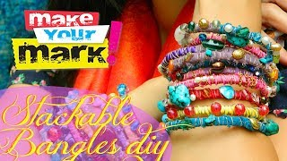 How to: Stackable Bangles DIY