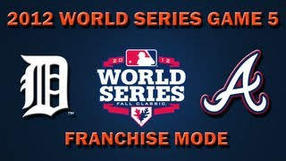 MLB 2K12: WORLD SERIES - Game 5: Detroit Tigers vs. Atlanta Braves