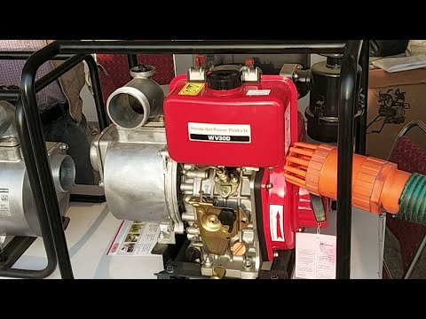 Honda Portable Water Pump (Powered by Diesel) : Models and Prices (Hindi) (Live Video)