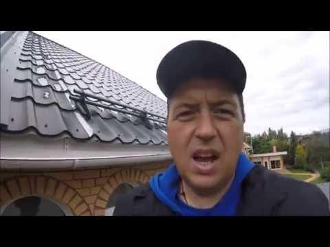 видео: Почему кровля течёт?  Водостоки на халяву.