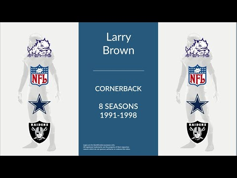 Larry Brown: Football Cornerback