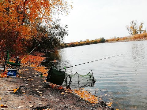 Рыбалка осенью 2018