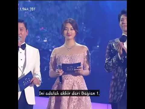 Suzy MC 배수지 at The 55th Baeksang Arts Awards sub indo
