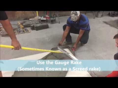 How to do Stamped Concrete Overlay OVER a WOOD DECK v1 1 101217
