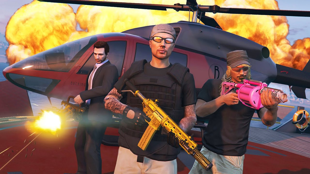 GTA 5 Online - ULTIMATE VIP CHALLENGES!! (GTA 5 Online Gameplay)