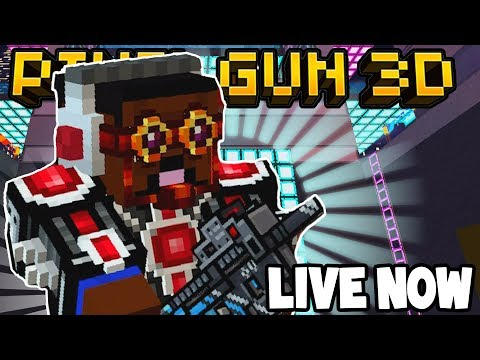LIVE! - PIXEL GUN 3D w/Subscribers! - COME JOIN!