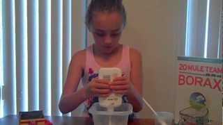 Another, how to make Slime out of Borax and Elmers Glue