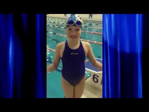 Света Предеина. 7 лет. Плавание. г. Полевской. Заправляем в спорте.