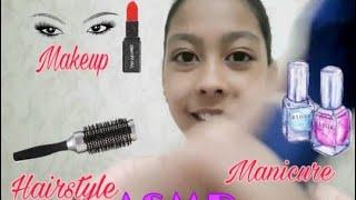 АСМР Быстрый макияж подруге ASMR Fast makeup for my friend