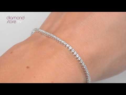 diamond-tennis-bracelet-set-in-white-gold