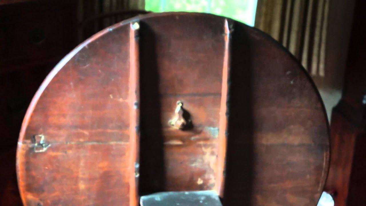 Antique Furniture Tilt And Turn Tea Table Circa 1765