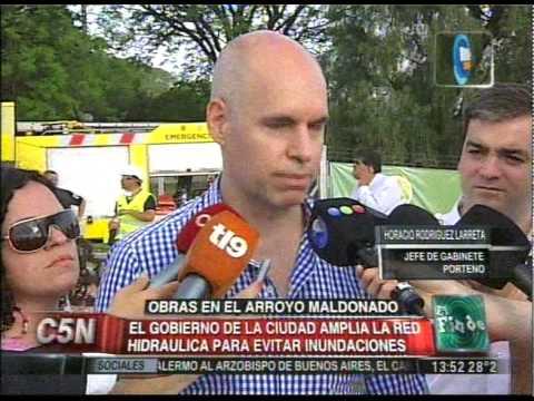 C5N - SOCIEDAD: OBRAS EN EL ARROYO MALDONADO