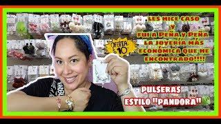 Pulseras estilo pandora y joyería a super precios en Peña y peña!!