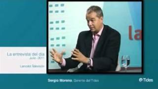 4/4 Sergio Moreno Gil en La entrevista del día LANCELOT TV