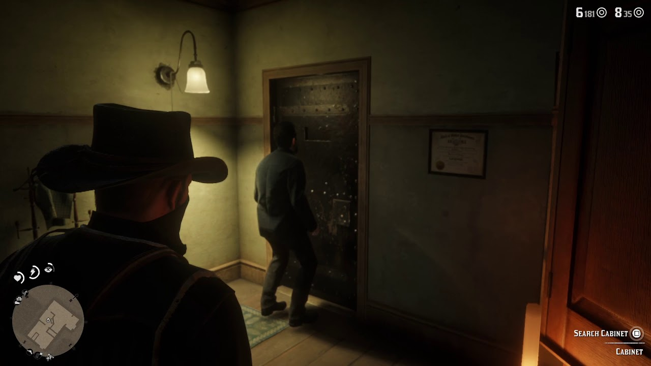 Red Dead Redemption 2 Robbing The Valentine Doctor Youtube