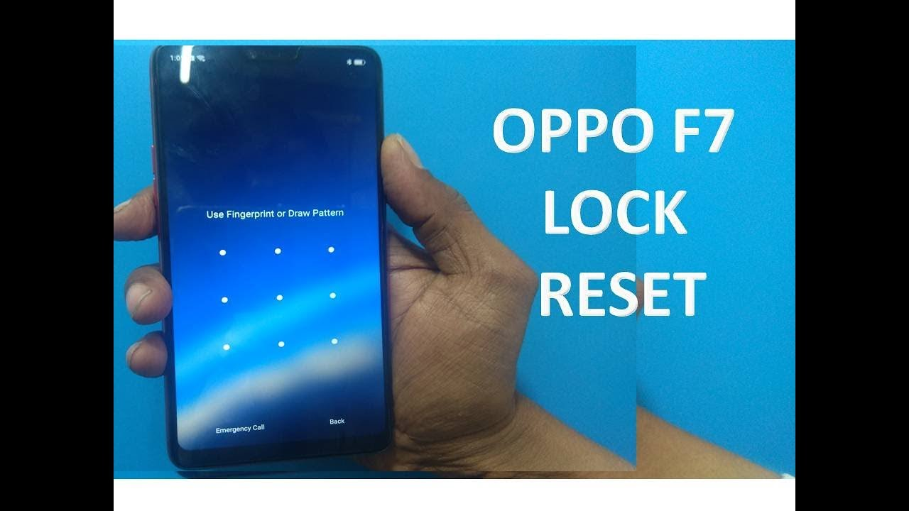 how to unlock oppo f7 cph1819/pattern reset/password code reset eazy way