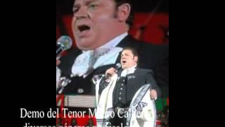 Demo de audio Mauro Calderón Tenor