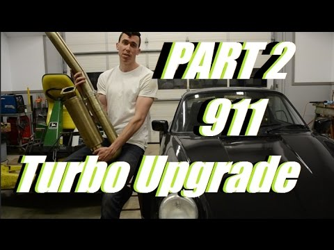 Pt. 2: Porsche 930 – K27 Turbo Upgrade! Install/DIY Video