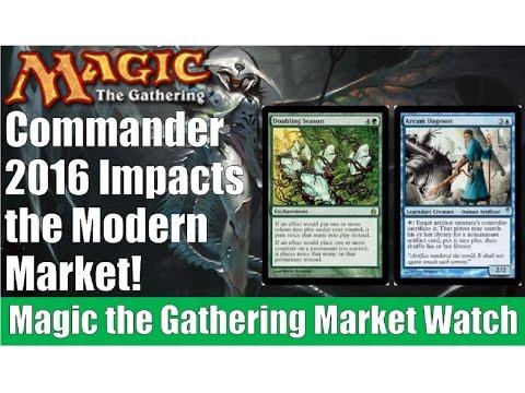 MTG Market Watch: Commander 2016 Impacts the Modern Market!