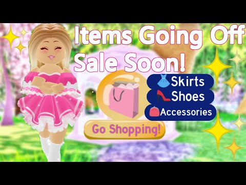 These Items Are Going Off Sale Soon In Royale High (Friendly Reminder)
