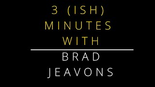 Nectar 3ish mintures with Brad Jeavons