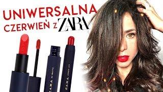 Wielki test czerwonych szminek ZARA! *szminki warte swojej ceny?!*