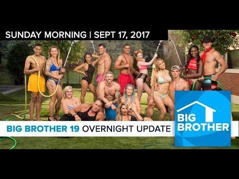 Big Brother 19 | Overnight Update Podcast | Sept 17, 2017