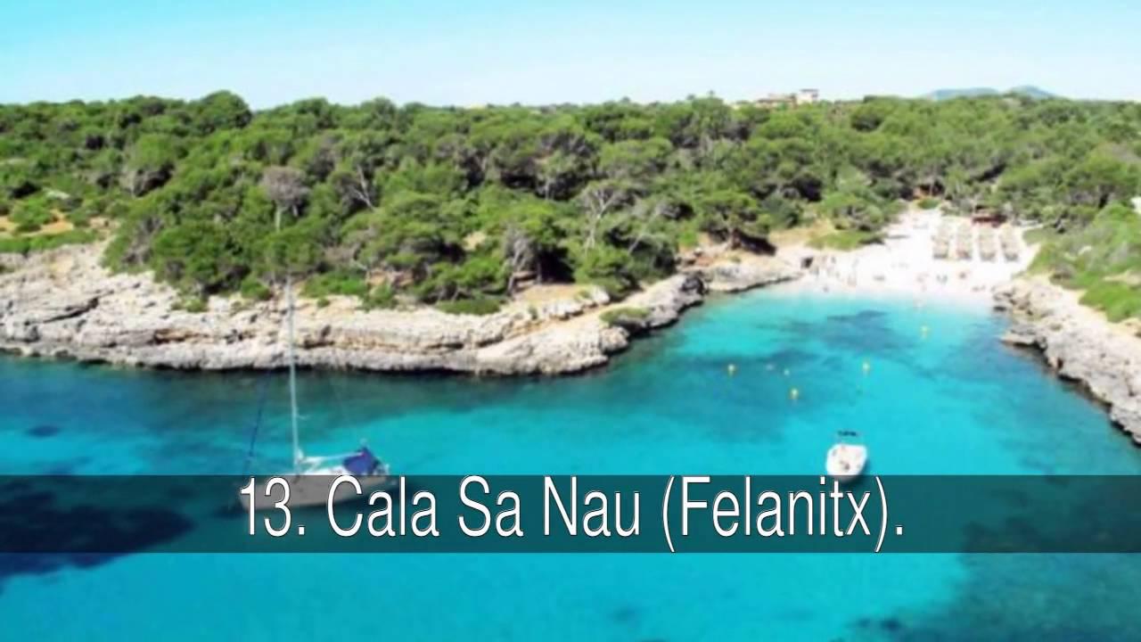 Mapa Calas De Mallorca.Mejores Calas Y Playas De Mallorca